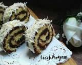 Bolgul kukus moca coklat (1 telur) langkah memasak 11 foto