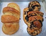 Roti autolisis 8 jam langkah memasak 4 foto