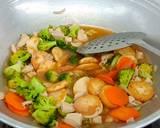 Sapo Tahu Ayam langkah memasak 3 foto