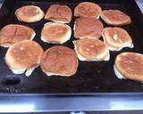 Black and blue Hamburger recipe step 3 photo