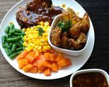 Beef steak and cheese potato wedges #PR_recookamerikaamerhoma langkah memasak 8 foto