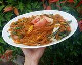 Mie Pentil (karet) Lombok Ijo langkah memasak 4 foto