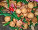 Tumis Tempe Tongkol Tahu Bulat kecombrang Kacang Panjang langkah memasak 4 foto