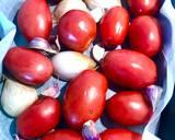Zupa pomidorowa z pieczonych pomidorów krok przepisu 1 zdjęcie