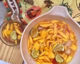 Manisan Rambutan Mangga Muda langkah memasak 4 foto