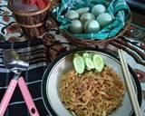Indomie Goreng Salted Egg Rumahan langkah memasak 3 foto