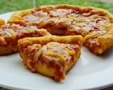 Pizza Teflon Labu Kuning langkah memasak 13 foto