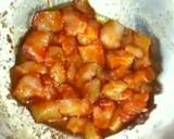 Sweet and sour chicken pizza recipe step 4 photo