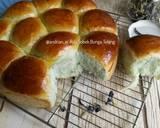 Roti Sobek Bunga Telang langkah memasak 18 foto