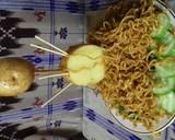 Flying noodle langkah memasak 6 foto