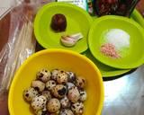 Telur Puyuh Bacem langkah memasak 1 foto