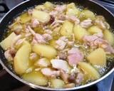 Chicken Mushroom and Potato Ajijo, makanan pas untuk Weekend langkah memasak 3 foto
