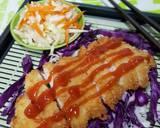 Chicken Katsu + acar langkah memasak 5 foto