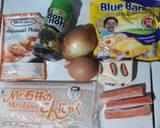 Tsubu Konyaku Mentai / Mentai Nasi Shirataki langkah memasak 1 foto