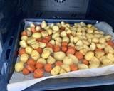 Pieczone ziemniaki z tymiankiem i rozmarynem 🌱 krok przepisu 1 zdjęcie