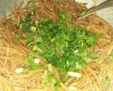 Mie Gomak Siram Bumbu Kacang / Mie Caluek langkah memasak 6 foto