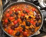 Aubergine, tomatoes and olives pasta sauce (vegan) recipe step 4 photo