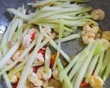 Tumis Jipang Udang Pete langkah memasak 2 foto