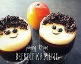 Puding Krebo Brekele aka Kriting langkah memasak 6 foto
