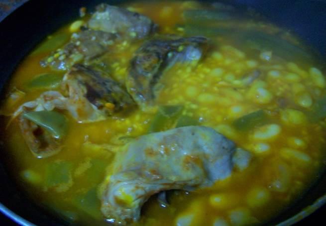 3 Paella De Carne Y Verdura