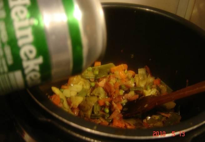 3 Menestra De Verduras  A La Cerveza