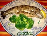 Foto del paso 4 de la receta Trucha con crujiente de sésamo